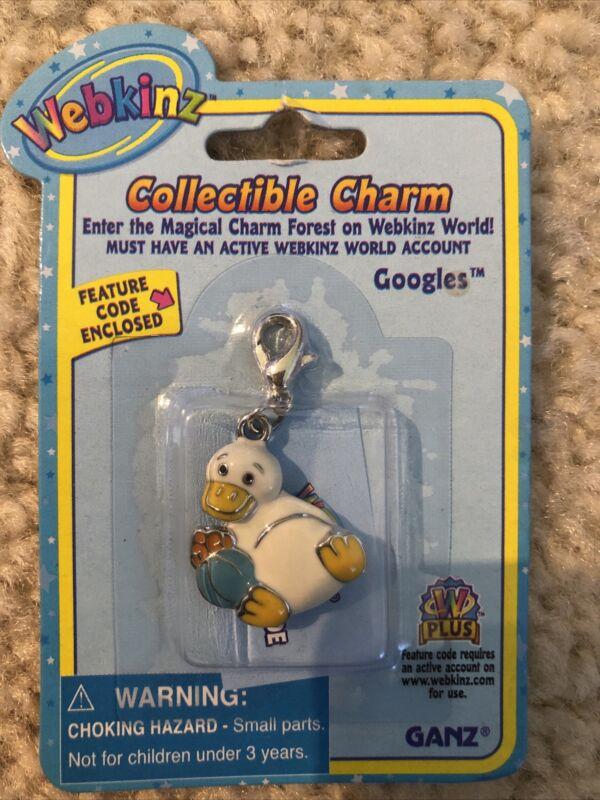 Webkinz Collectible Charm - GOOGLES - New w/ Unused Code