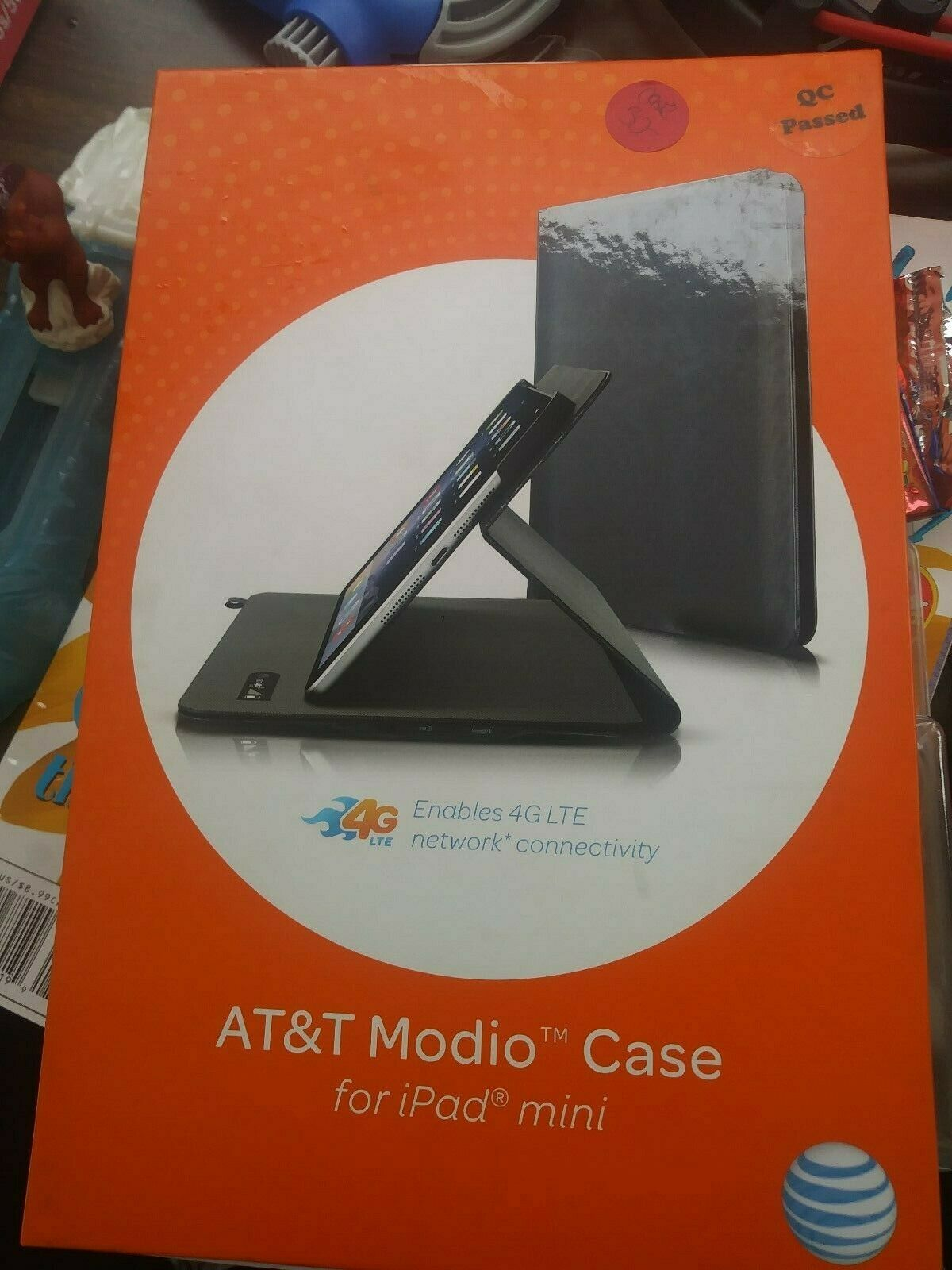 AT&T Modio Case for iPad Mini Tablet 4G Wifi Hotspot