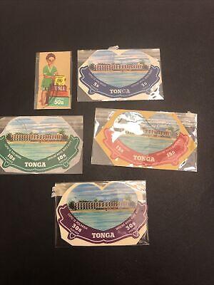 Tonga M/U British Colony Stamps- Lot A-68379