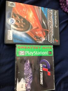 Selling play station 2 game for 15$ and Grand turismo game