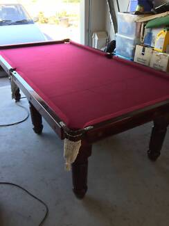 8'x4' Slate Pool Table - Includes accessories + Delivery* Forest Glen Maroochydore Area Preview