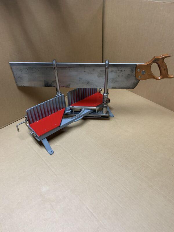 Millers Falls Langdon Acme Miter Box w/ Saw,