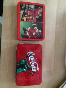 4 packs of coke playing cards