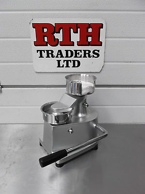 "RTH Hamburger Press - Burger Meat Moulder - Hand Operated - 4"" 100mm - £160+vat"
