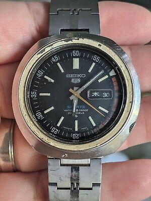Vintage '69 Seiko 6106-6410 Sports Diver 70M JDM Watch, Proof, Works