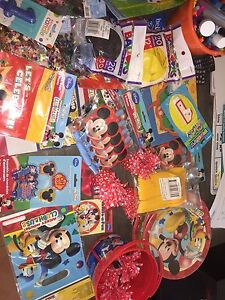 Mickey Mouse Party Stuff Arndell Park Blacktown Area Preview