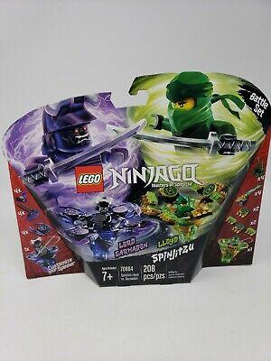 Lego 70664 LEGO NINJAGO Spinjitzu Lloyd vs. Garmadon 70664 Kit (208 Pieces)