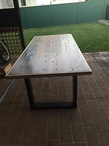 recycled railway sleeper table Parramatta Parramatta Area Preview