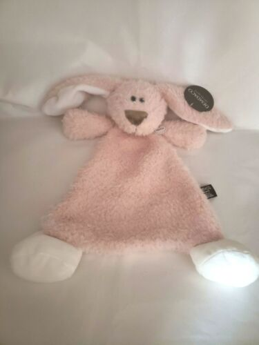 DEMDACO Belina Dog Blankie/Rattle Cozies Baby Shower Christmas Gift
