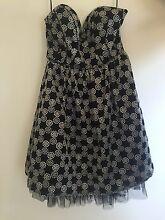 Sliver and Black Semi Formal Dress Taigum Brisbane North East Preview