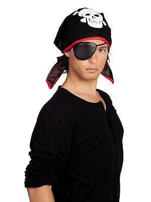 Kinder Pirat Bandana Thomas mit Augenklappe Faschingshut Fasching Karneval ()