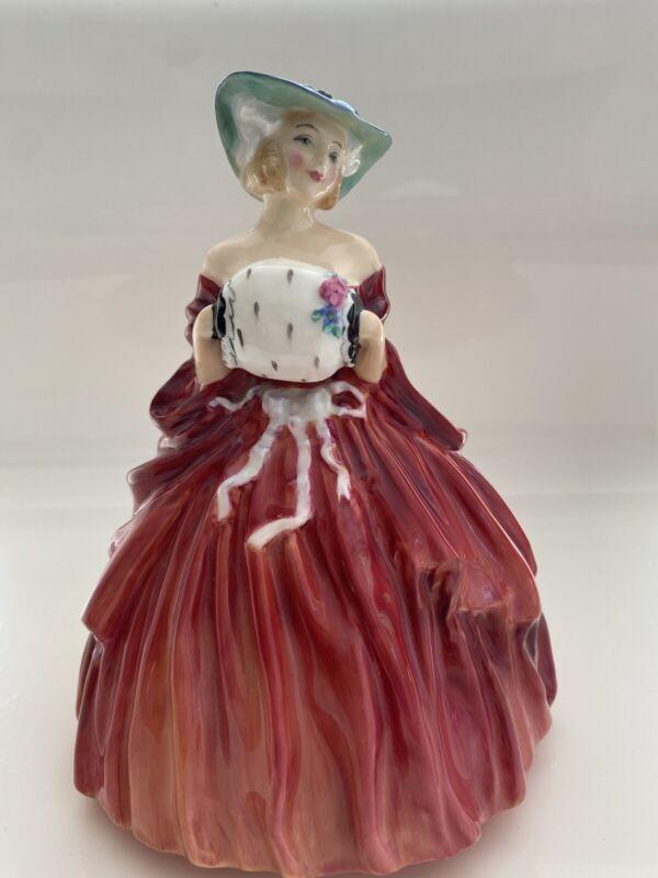 "Royal Doulton figurine Genevieve HN1962 7"""