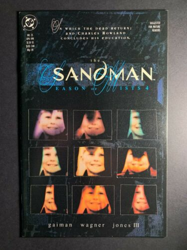THE SANDMAN #25 1989 NEIL GAIMAN 1ST DEADBOY DETECTIVES NM- 🔥🔑