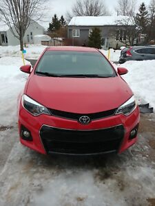 Toyota Corolla 2015 S special edition