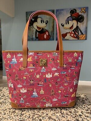 Disney Dooney And Bourke Tote NWT Pink Park Life