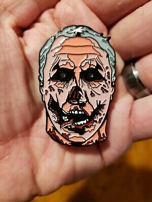 Halloween Michael Myers Horror Enamel Pin Glowing Eyes SOLD OUT