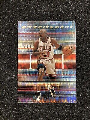 MICHAEL JORDAN 1999-2000 Upper Deck SPX SPXCITEMENT Insert #S20 * GEM MINT CARD
