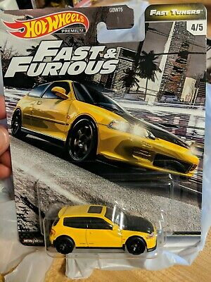 "Hot Wheels 2020 Premium Fast N Furious ""HONDA CIVIC EG"" Fast Tuners"