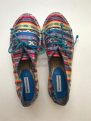 Tabitha Simmons Espadrille Shoes Multi Color Size 36 NWB $395 for sale  Houston
