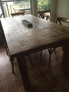 Large, rustic, sturdy table. Walcha Walcha Area Preview