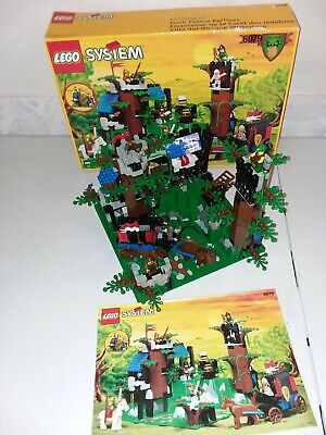 Lego Castle, 6079 Dark Forest Fortress 100% Complete With Box And Instructions