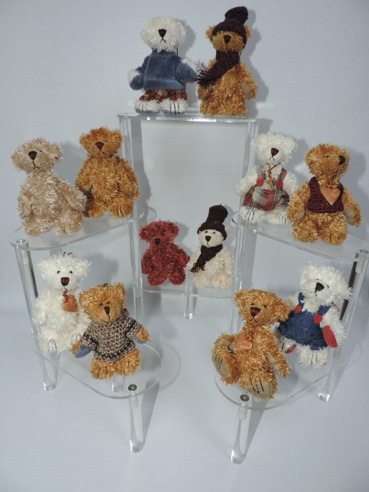 Купить Miniature Teddy Bear Ornaments - 12 pc. Assorted Set