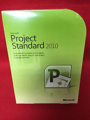 Microsoft Project Standard 2010 076 04843 Retail