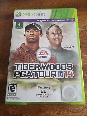 Tiger Woods PGA Tour 14(Microsoft Xbox 360) complete *Tested&Works*