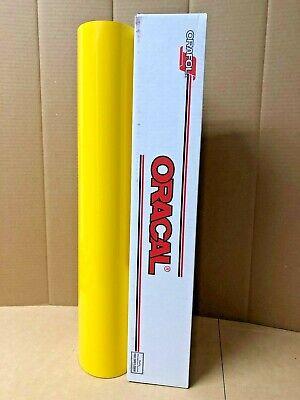 Oracal 651 1 Roll 24 X 10yd 30ft Light Yellow 022 Gloss Sign Vinyl