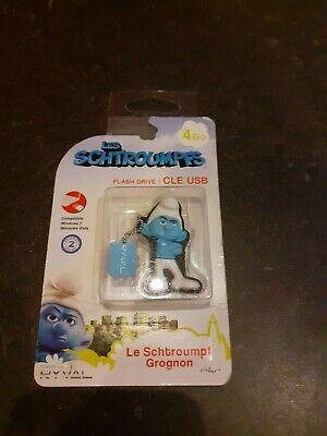 """CLE USB  """"les schtroumpfs""""  Peyo"""