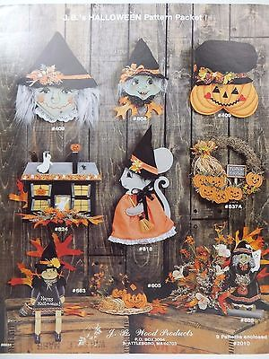 Jb Halloween (Halloween Theme 9 Patterns by J B Wood Products Painting Pattern)