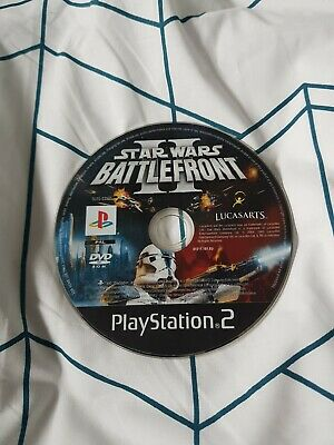 Star wars Battlefront 2 DISC Only Ps2