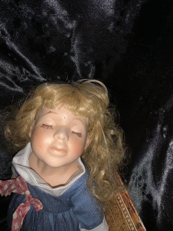 Haunted Porcelain Doll MARA Paranormal ACTIVE Spirit  Moves Ghost Orbs A3