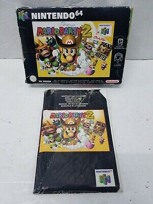 Mario Party 2 Nintendo 64 (N64) PAL VERSION *Box & Instructions Booklet ONLY*