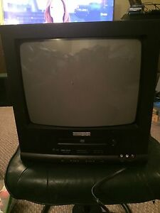 Color TV With DVD Player