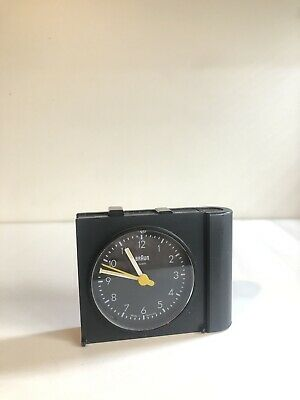 Vintage Braun Travel Alarm Clock
