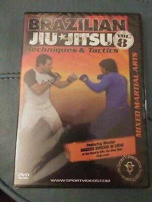 Brazilian Jiu-Jitsu Techniques and Tactics Mixed Martial Arts Vol 8 (New DVD)