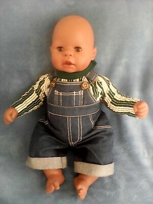 """ZAPF CREATIONS LIFELIKE NEWBORN REALISTIC 19"""" ACTIVATED BABY DOLL for sale  Vinton"""