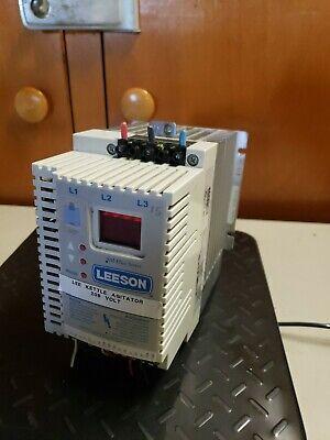 Leeson Speedmaster Sm Plus Series 174496.00 Adjustable Speed Ac Motor Control