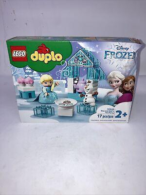 LEGO DUPLO Disney Frozen Elsa and Olaf's Tea Party 10920 Playset 17pcs New
