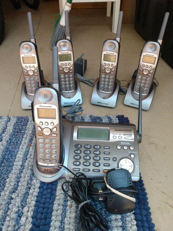 Panasonic KX-TG5110 With Five KX-TGA510M Cordless Phones Set