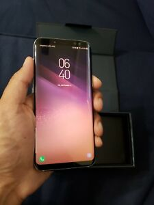 Samsung galaxy s8 orchard grey factory unlocked 64gb