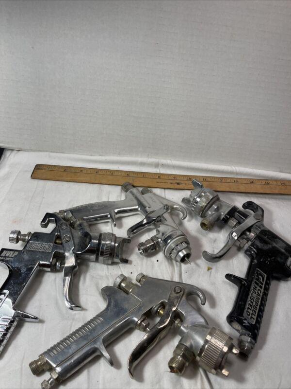 Paint Sprayer Guns 4 in Lot.