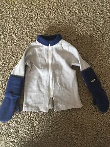 """Boys Size 3T """"No Snow Snuggler"""" with Built in Mittens"""