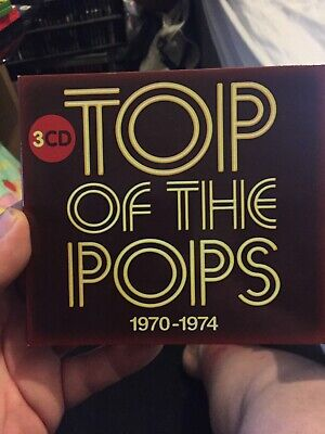 Top of the Pops 3 CD 1970 -1974 ABBA Rod Stewart Elton John The Stylistics +More