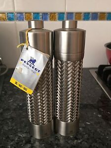 Brand New Extremely Rare Peugeot stainless steel salt & pepper mills Burwood Heights Burwood Area Preview