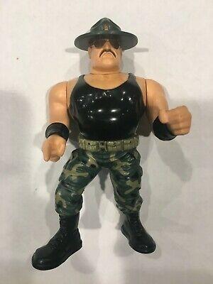 Sergeant SGT SLAUGHTER WWF Hasbro Figure WWE Vintage Series 3 Working Action