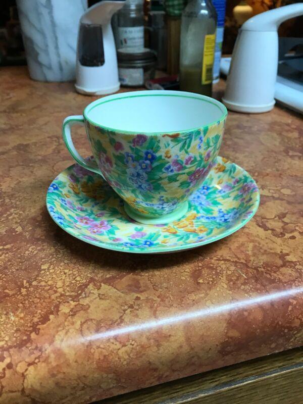 Vintage Sampson Smith Old Royal  Teacup