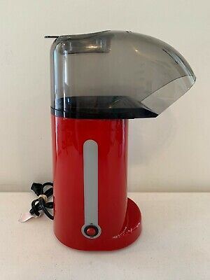 Cooks Red Electric Hot Air Corn Popcorn Popper Maker Machine 1400W Model 2256 for sale  Shipping to Nigeria
