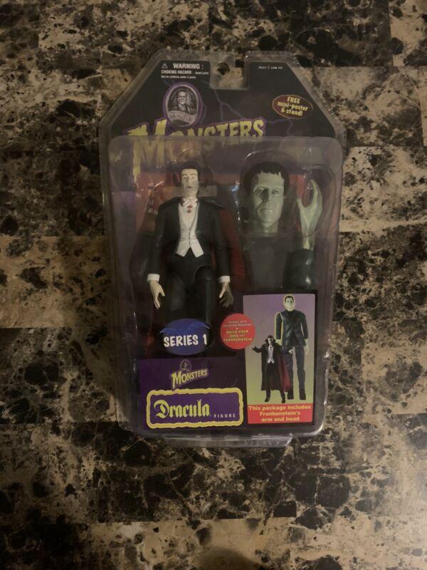 Rare Universal Studios Monster Dracula Figure Series 2006 Frankenstein Series